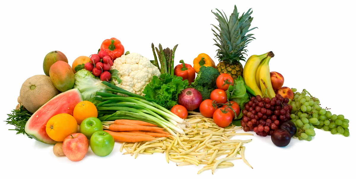 Fruits Veggies Horizantal View Resize